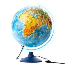 Глобус Евро 320 - Физико-политический, рельефный с подсветкой - Globen
