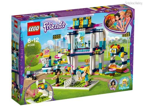 Конструктор LEGO 41338 Friends Спортивная арена для Стефани - Lego