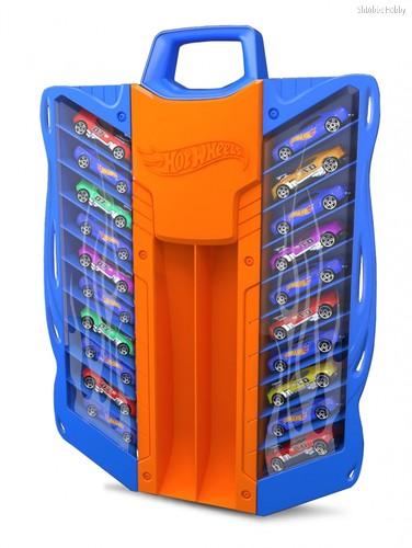 Кейс для хранения HOT WHEELS HWCC7 автотрек голубой - Mattel