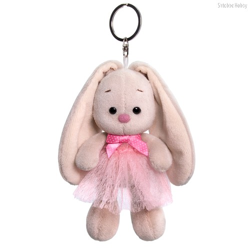 Брелок BUDI BASA ABB-011 Зайка Ми в розовой юбке и с бантиком - Буди Баса