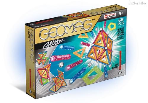 Магнитный конструктор GEOMAG 533 Glitter 68 деталей - Geomag