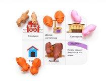 Обучающий набор KNOPA 87039 Домашние животные - Knopa