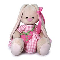 Мягкая игрушка BUDI BASA SidL-386 Зайка Ми Большой с сумкой - сердечком 34 cм - Буди Баса