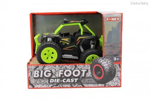 Машина пластиковая FUNKY TOYS FT61061 Багги die-cast, инерционный, зеленый, 1:24 - Funky Toys