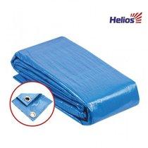 Тент укрывной 3x3 Helios синий 60 г/м2 - Тонар
