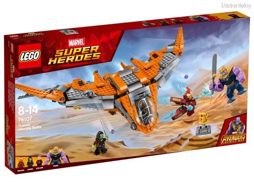Конструктор Super Heroes Танос: последняя битва - Lego