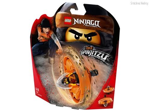 Конструктор LEGO 70637 Ninjago Коул — Мастер Кружитцу - Lego