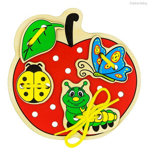 Шнуровка ALATOYS ШН21 яблоко - Alatoys