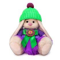 Мягкая игрушка BUDI BASA SidS-412 Зайка Ми Пурпурный александрит 18 см - Буди Баса