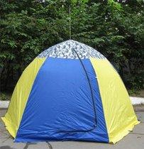 Палатка рыбака с брезентом Стэк-3 (п/автомат) - Стэк