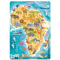 Пазл DODO R300175 Африка в рамке - Dodo