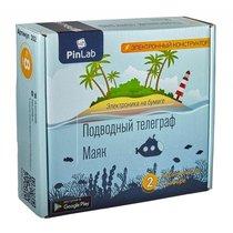 Конструктор PINLAB 202 Подводный телеграф, Маяк - Pinlab