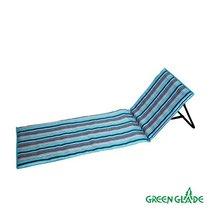 Пляжный коврик со спинкой Green Glade М2301 - Green Glade