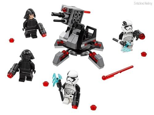 Конструктор Star Wars Боевой набор специалистов Первого Ордена - Lego