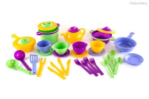 Набор детской посуды Профи - Пластмастер
