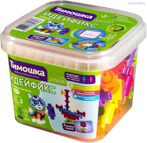 Конструктор ТИМОШКА М015 Идейфикс 50 деталей - Тимошка