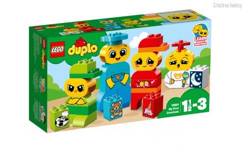 Конструктор LEGO 10861 Duplo My First Мои первые эмоции - Lego