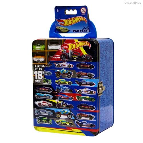 Кейс для хранения HOT WHEELS HWCC2голубой 18 машинок - Mattel