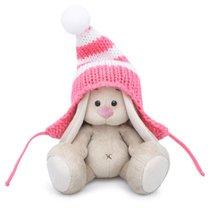 Мягкая игрушка BUDI BASA SidX-287 Зайка Ми в полосатой розовой шапке 15 см - Буди Баса