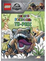 Раскраска LEGO FCBW-6201S1 Jurassic world.Ти-рекс - Lego