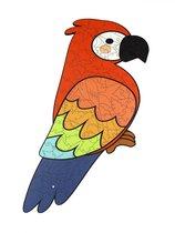 Пазл WOODLANDTOYS 147105 Попугай - WOODLAND