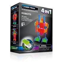 Светодиодный конструктор Роботы 4 в 1 - Laser Pegs