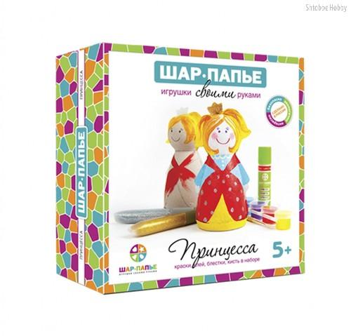 Набор для творчества ШАР-ПАПЬЕ В01452 Принцесса - Шар-Папье