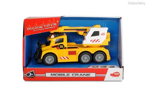 Игрушка DICKIE 3302006 Машина с краном (свет, звук) - DICKIE