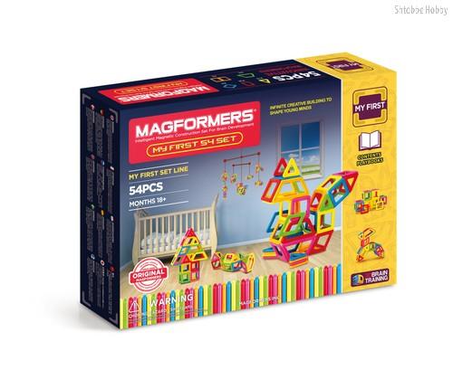 Магнитный конструктор Magformers My First 54 - Magformers