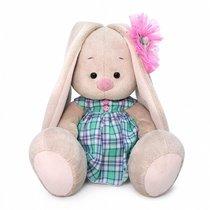 Мягкая игрушка BUDI BASA SidM-384 Зайка Ми в зеленом платье в клетку 23 см - Буди Баса