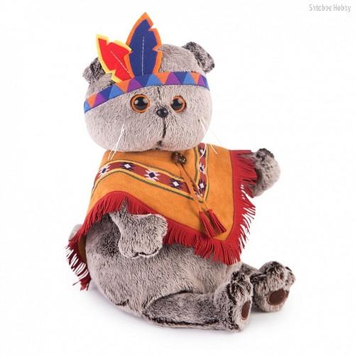 Мягкая игрушка BUDI BASA Ks19-070 Басик в костюме индейца - Буди Баса