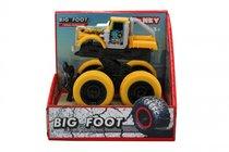 Машина пластиковая FUNKY TOYS 60005 с краш-эффектом, пул-бэк, желтая - Funky Toys