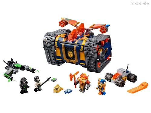 Конструктор Nexo Knights Мобильный арсенал Акселя - Lego