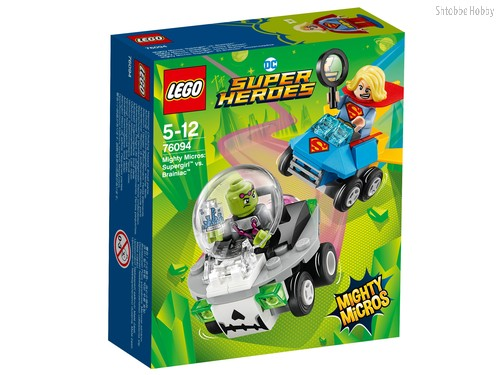 Конструктор LEGO 76094 Super Heroes Mighty Micros: Супергёрл против Брейниака - Lego