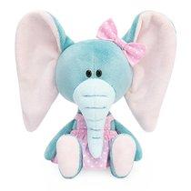 Мягкая игрушка BUDI BASA SA15-30 Слониха Симба в розовом сарафане - Буди Баса