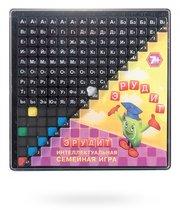 Настольная игра 10011 Эрудит (черные фишки) - БИПЛАНТ