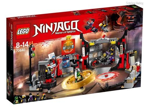 Конструктор LEGO 70640 Ninjago Штаб-квартира Сынов Гармадона - Lego