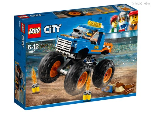 Конструктор LEGO 60180 City Great Vehicles Монстр-трак - Lego