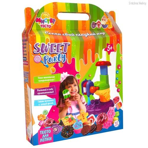 Масса для лепки STRATEG 71205 мистер тесто Sweet party - Strateg