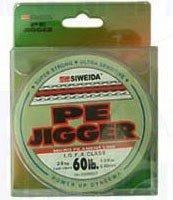 Рыболовная леска плетеная PE Jigger 100м 0,12 (зеленая) - Siweida