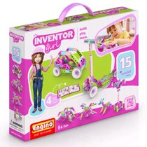 "Конструктор ""INVENTOR GIRLS"", 15 моделей - Engino"