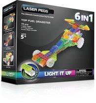 Светодиодный конструктор Гонка 6 в 1 - Laser Pegs