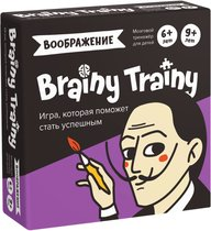 Игра-головоломка BRAINY TRAINY УМ463 Воображение - Банда умников