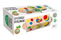 Кубики ДЕСЯТОЕ КОРОЛЕВСТВО 02961 Цвет на оси - Десятое королевство