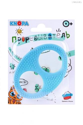 Прорезыватель KNOPA 80082 Бесконечность, голубая - Knopa