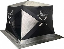 Зимняя палатка куб Woodland Ultra Comfort, трехслойная - Woodland