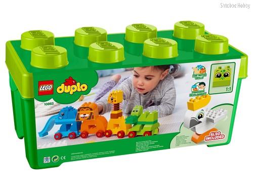Конструктор LEGO 10863 Duplo My First Мой первый парад животных - Lego