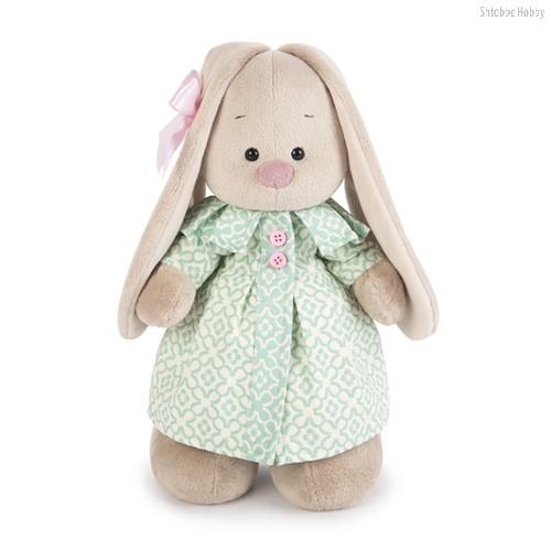 Мягкая игрушка BUDI BASA StS-204 Зайка Ми в бирюзовом пальто (малая) - Буди Баса