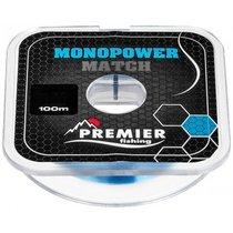 Леска Premier Fishing Monopower Match 0,30мм 100м Blue Nylon PR-MM-B-030-100 - Тонар