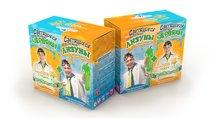 Набор для опытов 828 Светящиеся червяки и лизуны - Инновации Для Детей